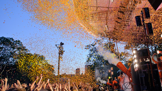 Concerts and events in Central Park