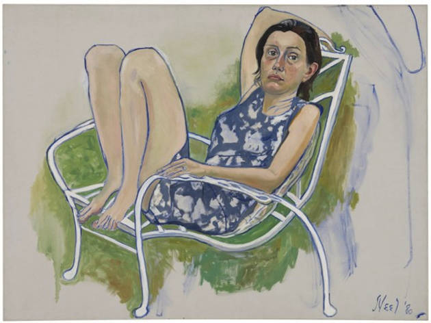 "Alice Neel, ""Late Portraits & Still Lifes"""