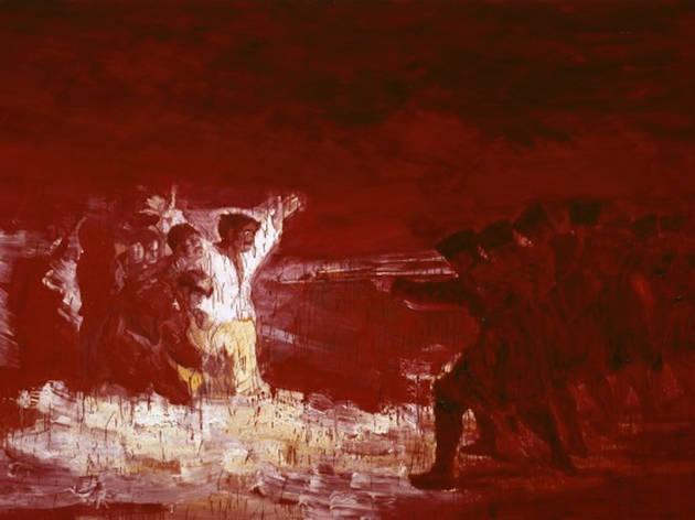 """Yan Pei-Ming, """"Black Paintings"""""""