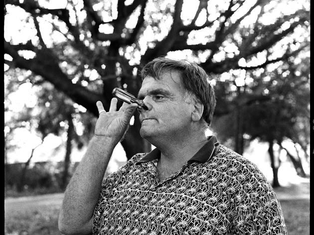 (Richard Schutte, 56 ans, Avaleur de sabres et cracheur de feu / © Christian Kettiger)