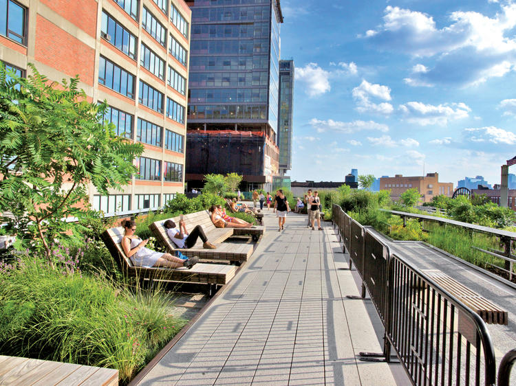 Check out the High Line