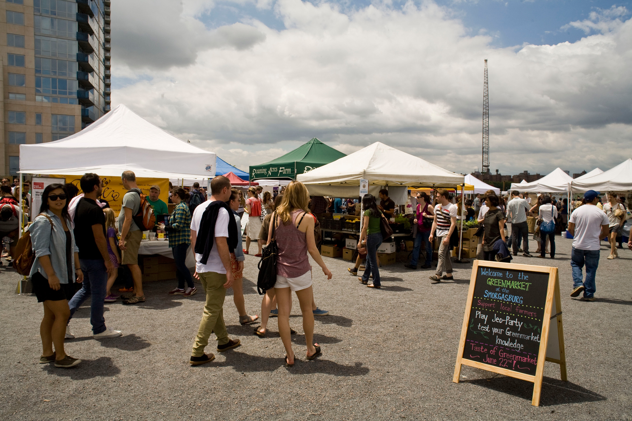 Taste sweet treats at Smorgasburg