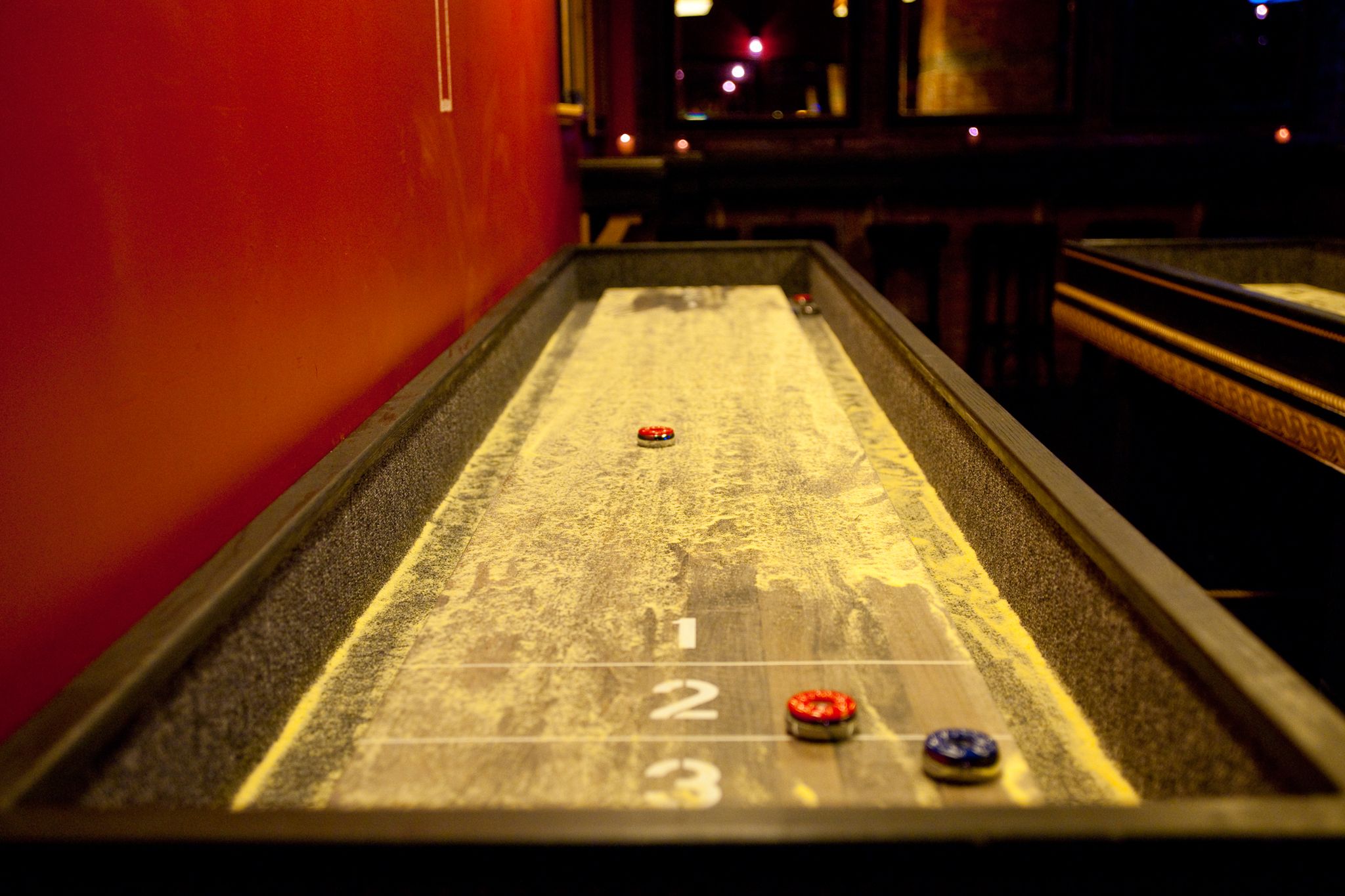 Hang in an adult rec room at the Whiskey Brooklyn
