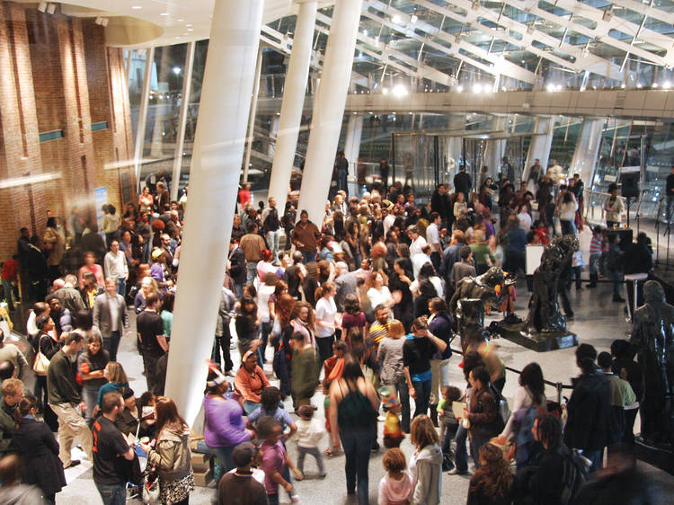 Head to Target First Saturdays at the Brooklyn Museum