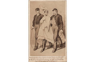 """President in Petticoats! Civil War Propaganda in Photographs"""