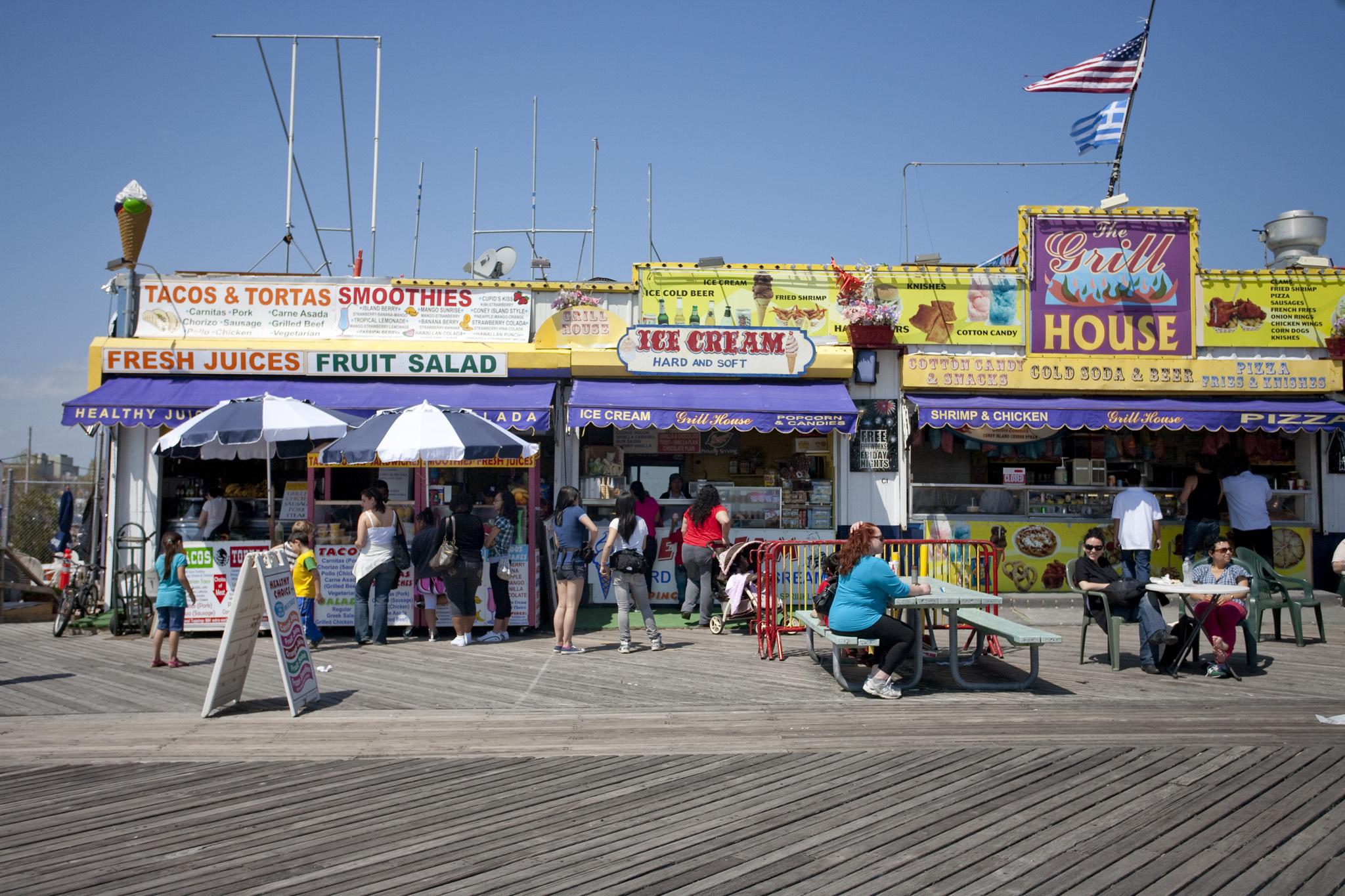 Coney Island Boardwalk Parties