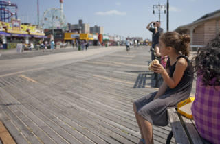 Coney Island Boardwalk (Photograph: Virginia Rollison)