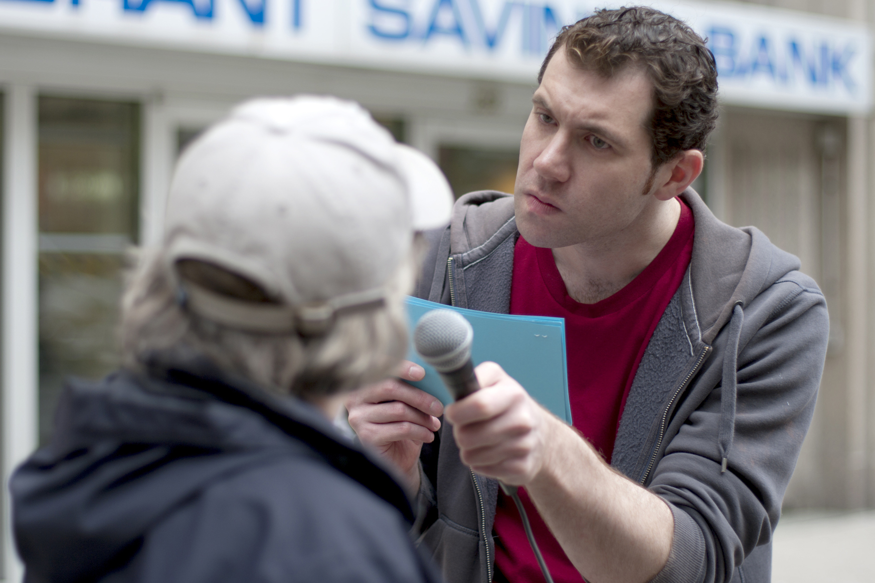 Billy Eichner in Billy on the Street