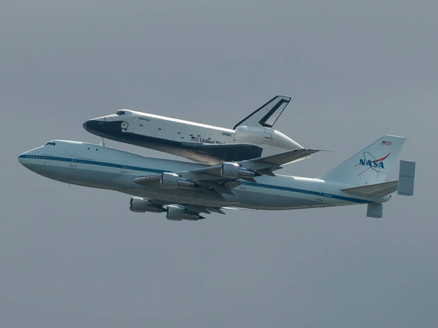 See New York's space shuttle