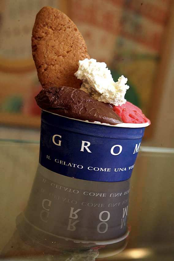 For ice cream • Grom