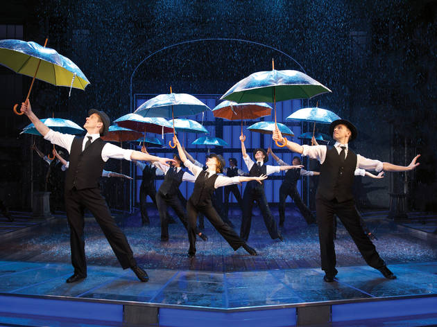 'Singin' in the Rain' au Palace Theatre - JO - Londres - Theatre