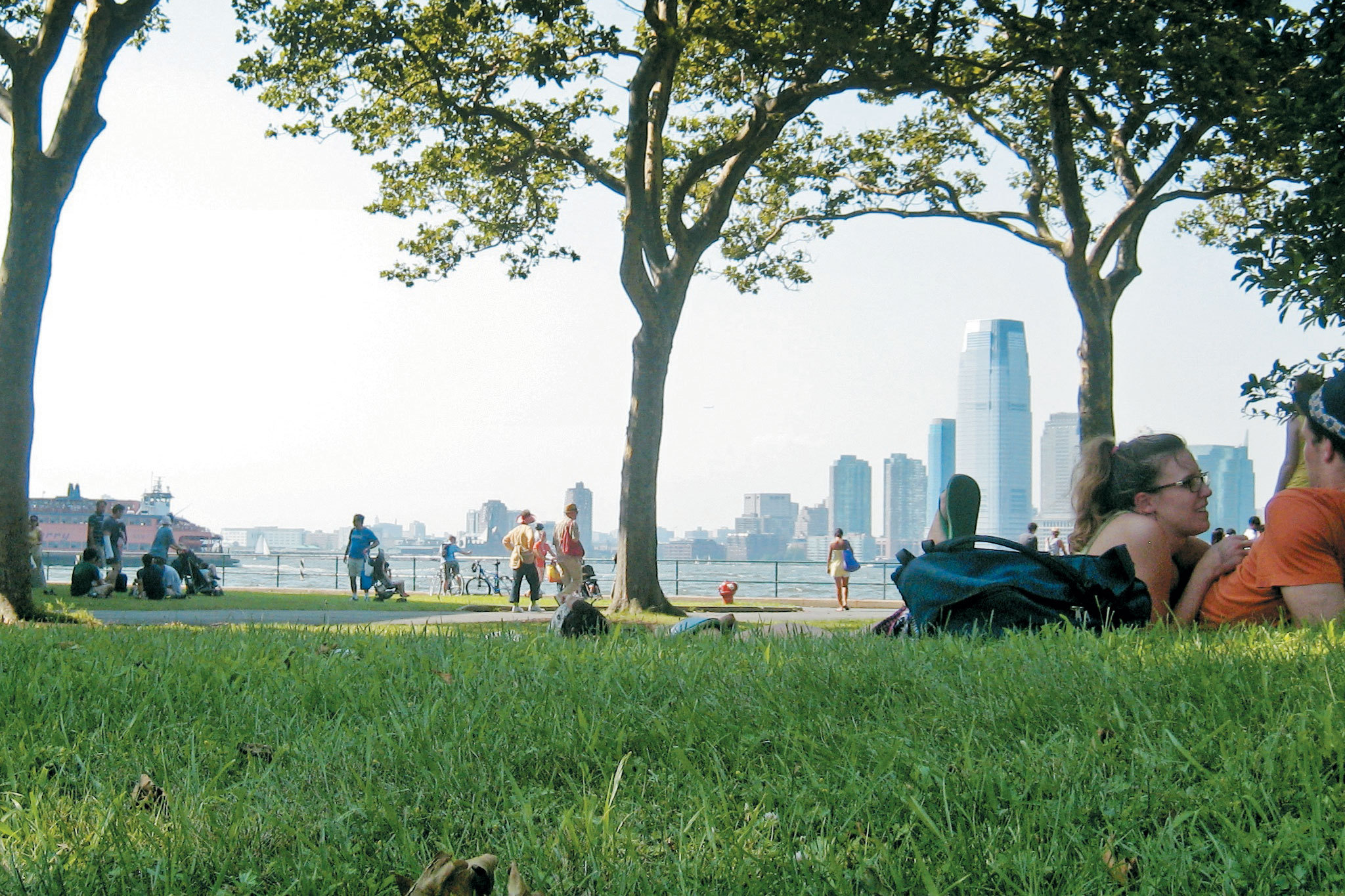 Take a trip to Governors Island