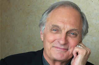 Steven Strogatz with Alan Alda