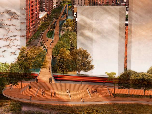 """Reimagining the Waterfront: Manhattan's East River Esplanade"""
