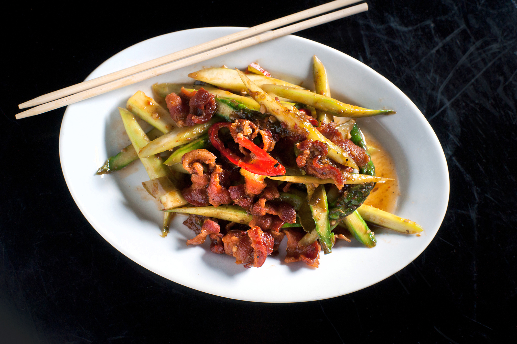 Prepare a Thai breakfast at Ngam