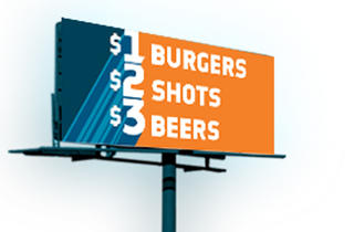 1 2 3 Burger Shot Beer