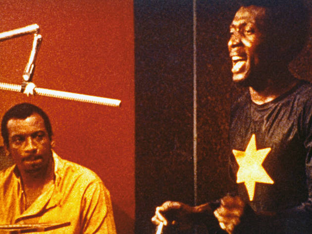 Jimmy Cliff, right, in The Harder They Come