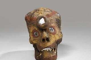 ('Crâne reliquaire' / © musée du quai Branly, photo Claude Germain)