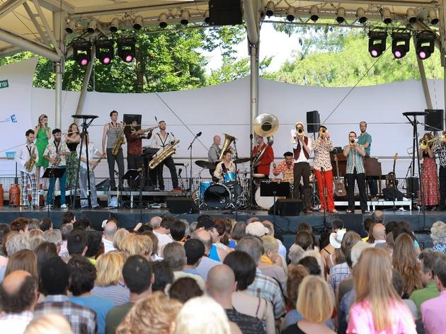 Party in the park with Paris Jazz Festival
