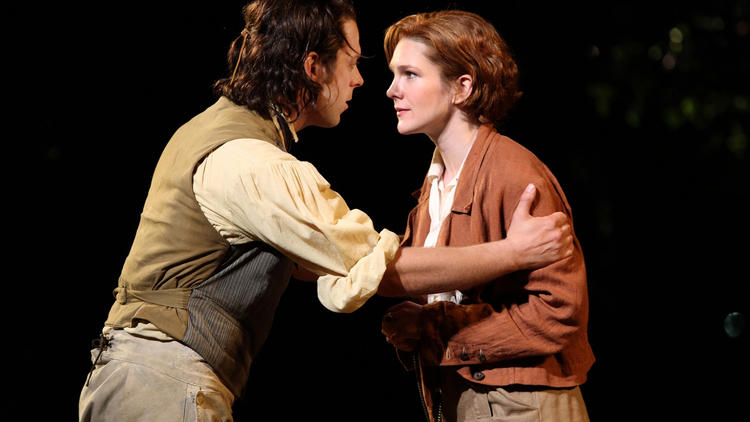 Lily Rabe in As You Like It