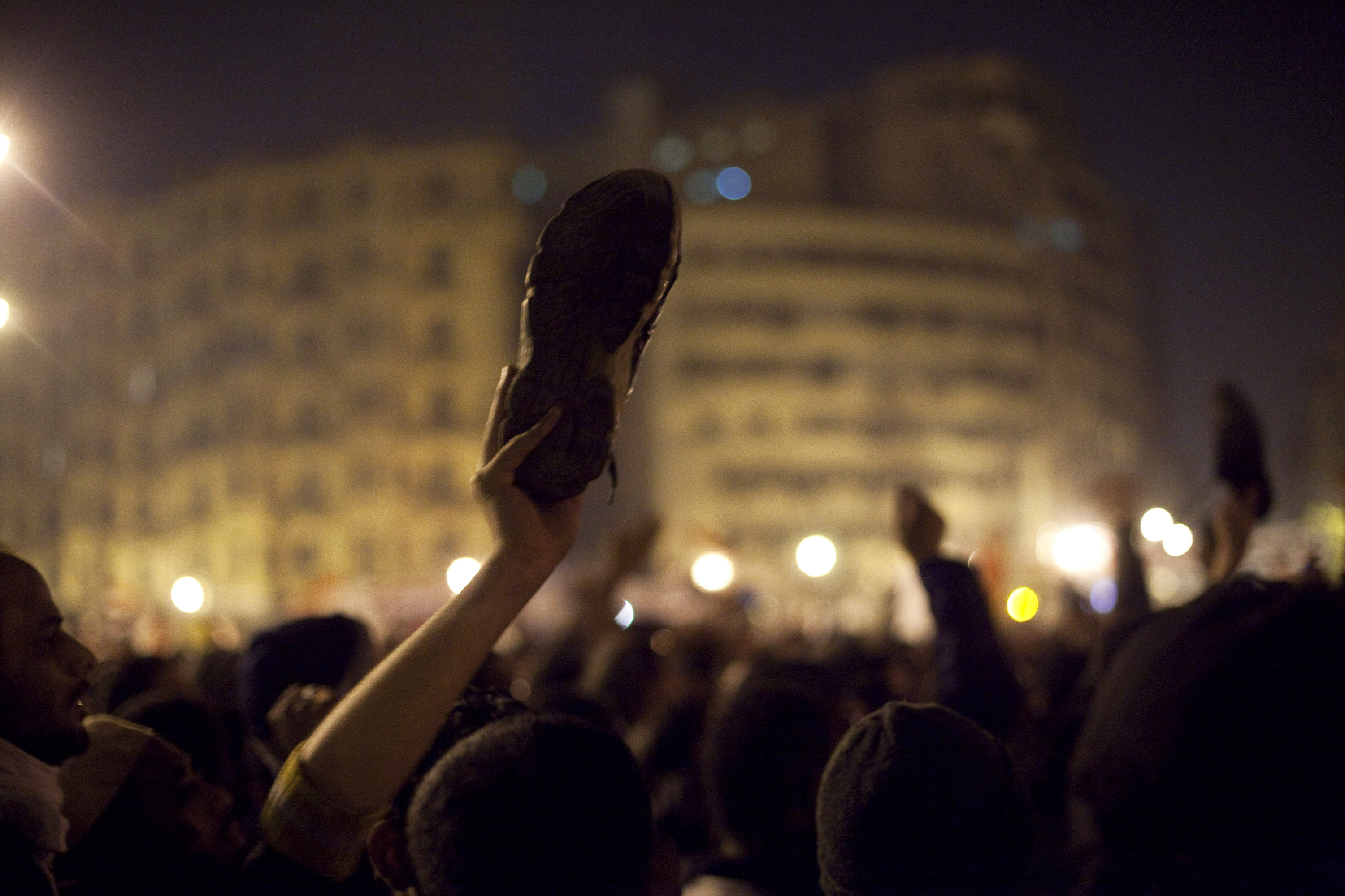 Egyptian protesters take to the streets in Tahrir: Liberation Square