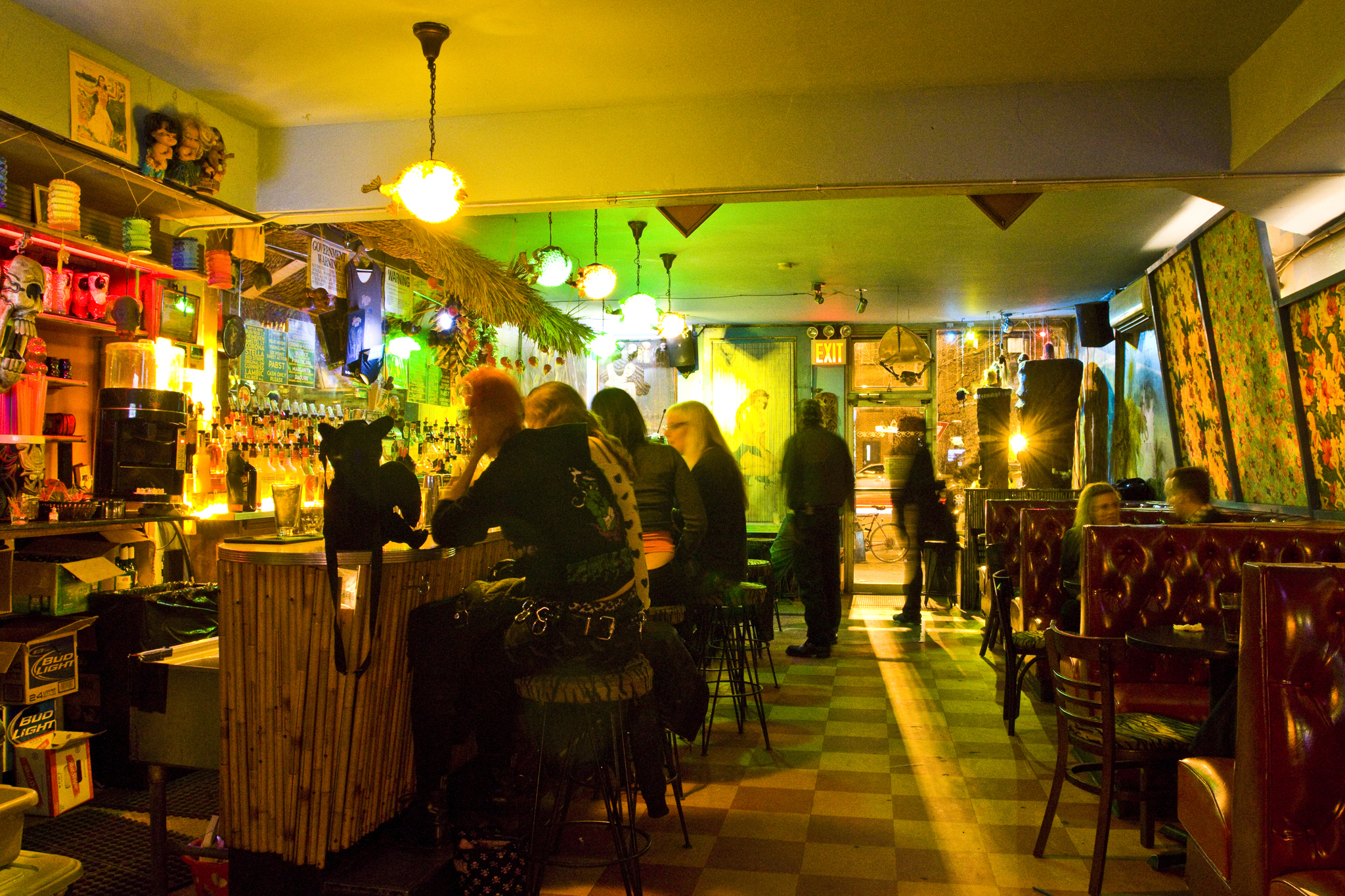 Indulge in offbeat entertainment at Otto's Shrunken Head
