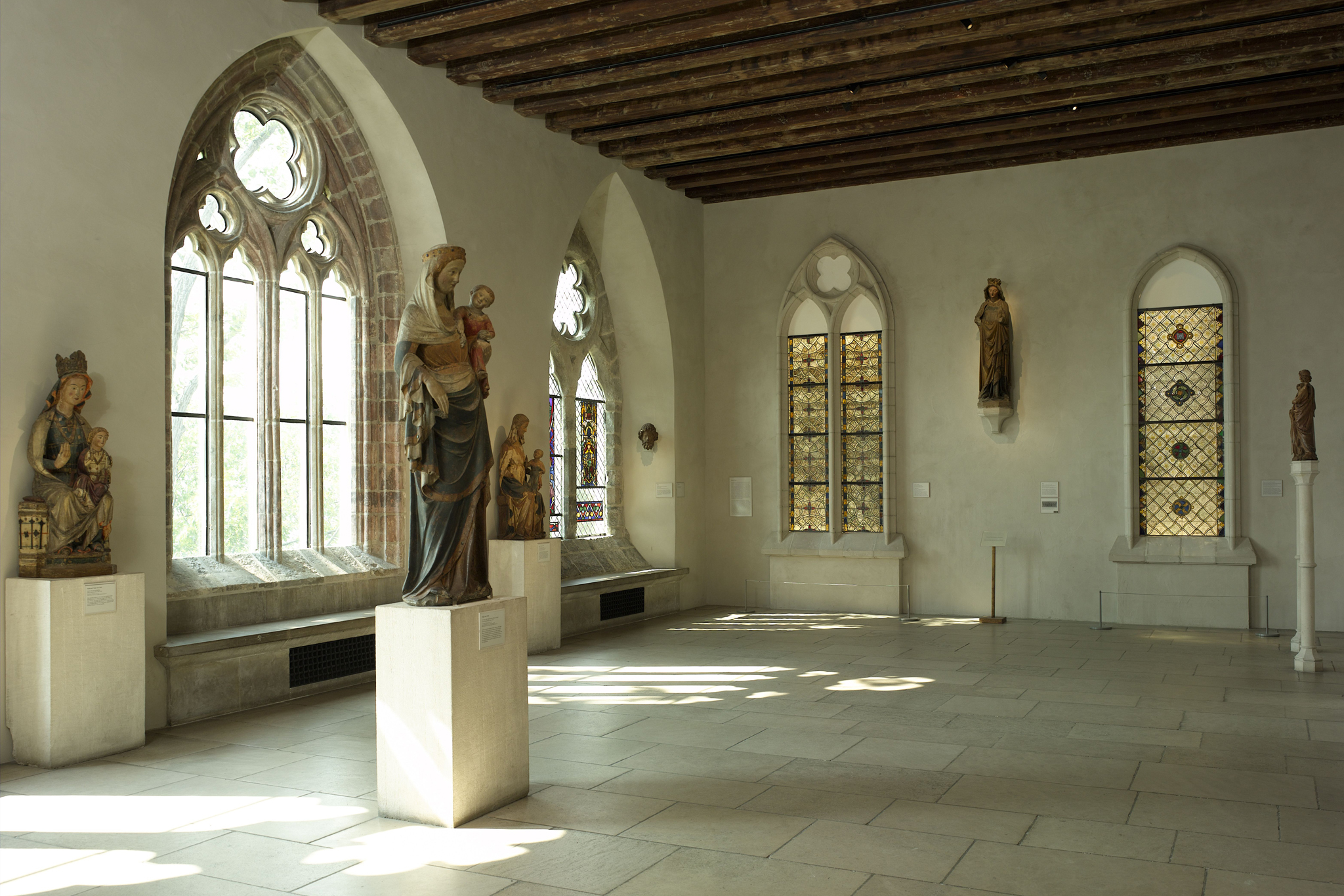 Inspect old-world antiques at the Cloisters