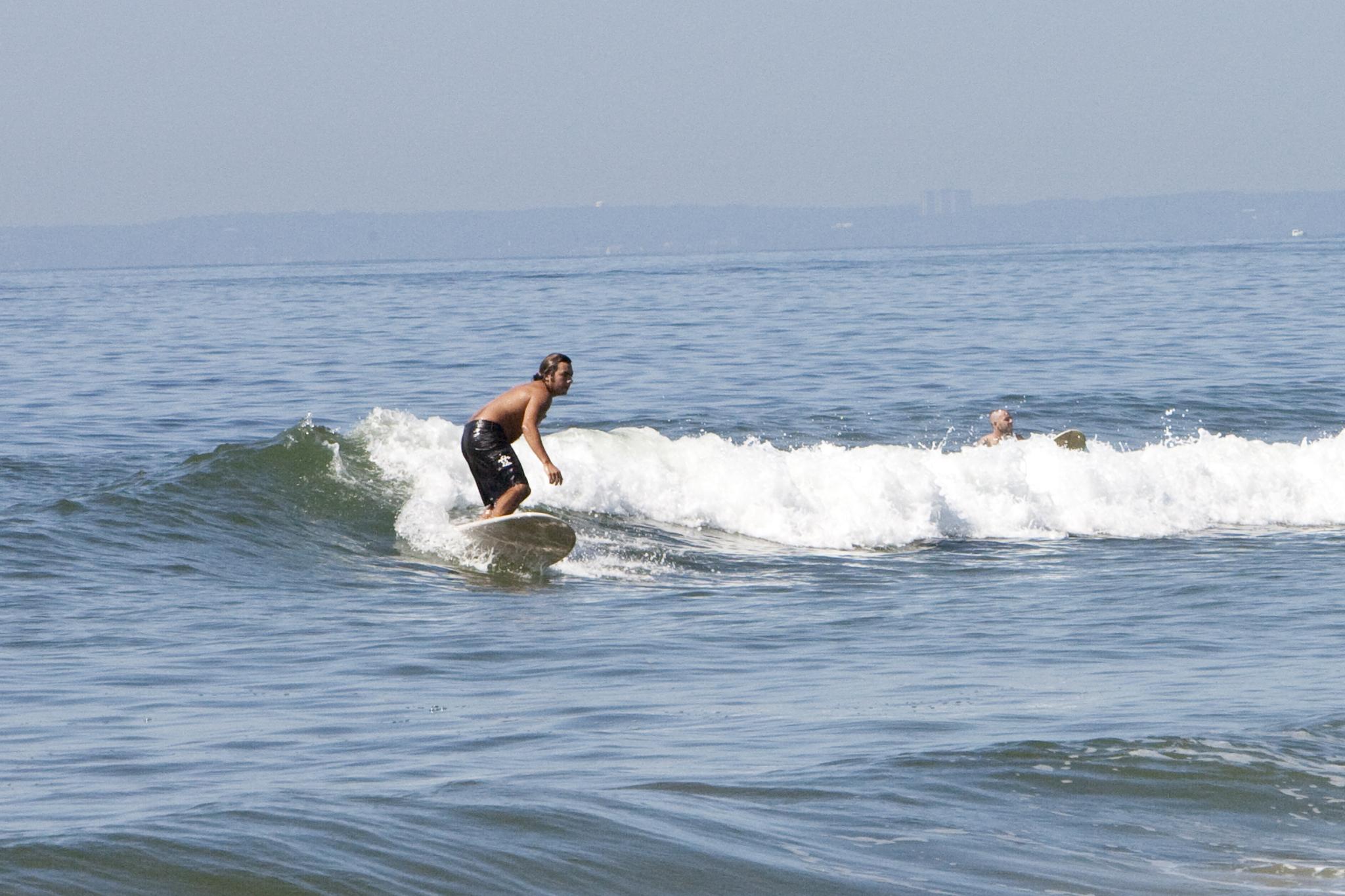 Surfing at Rockaway