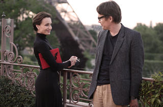 Kristin Scott Thomas and Ethan Hawke in The Woman in the Fifth
