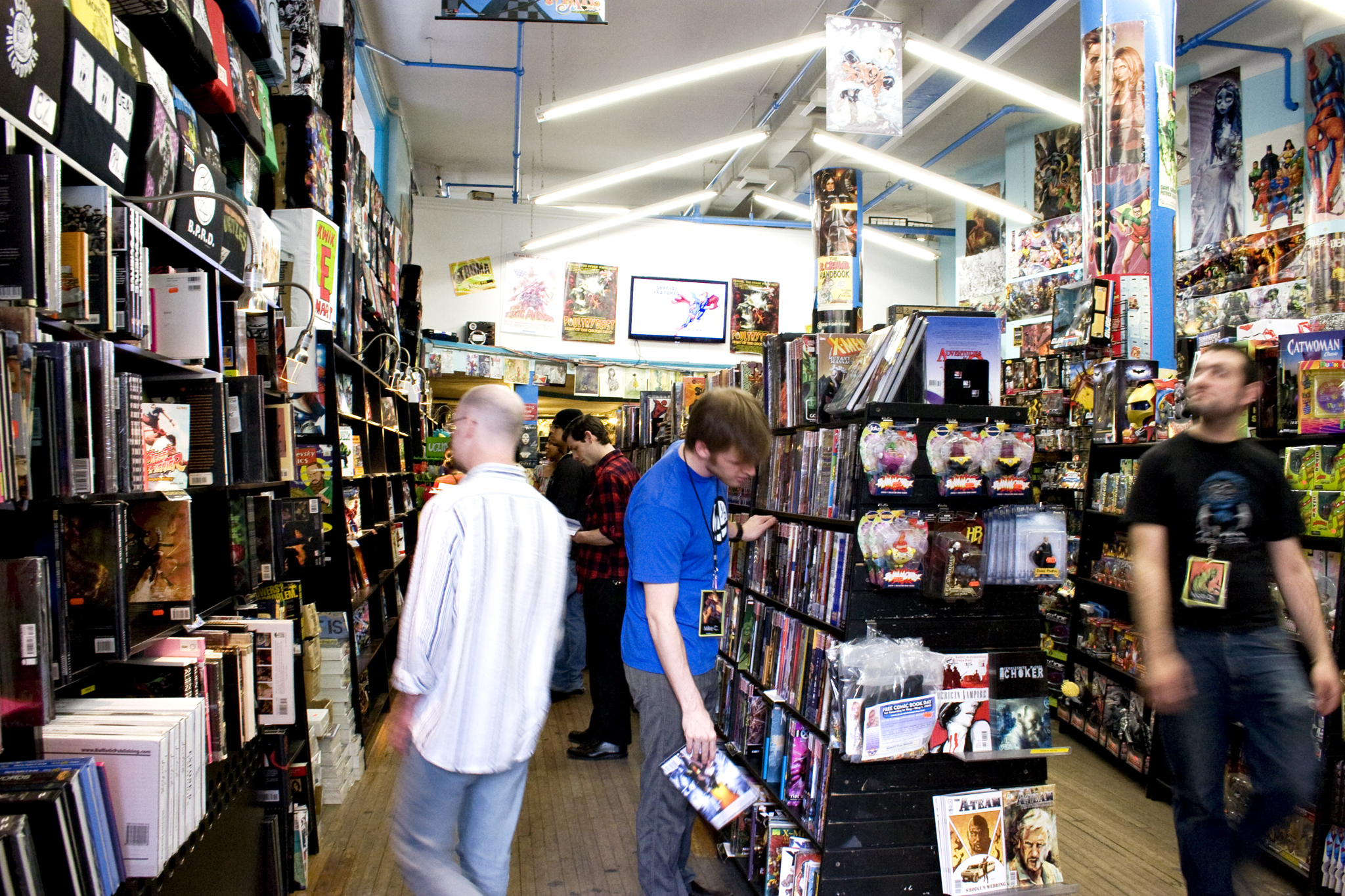 Load up on comics (or toys or manga) at Forbidden Planet
