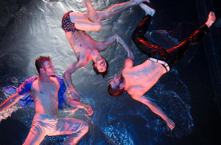 Boys Night Out at Fuerza Bruta