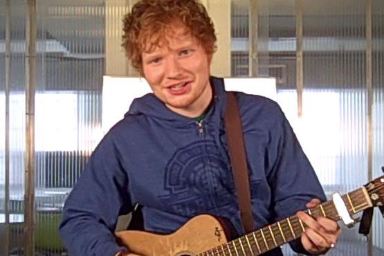 """Ed Sheeran """"Sing"""""""