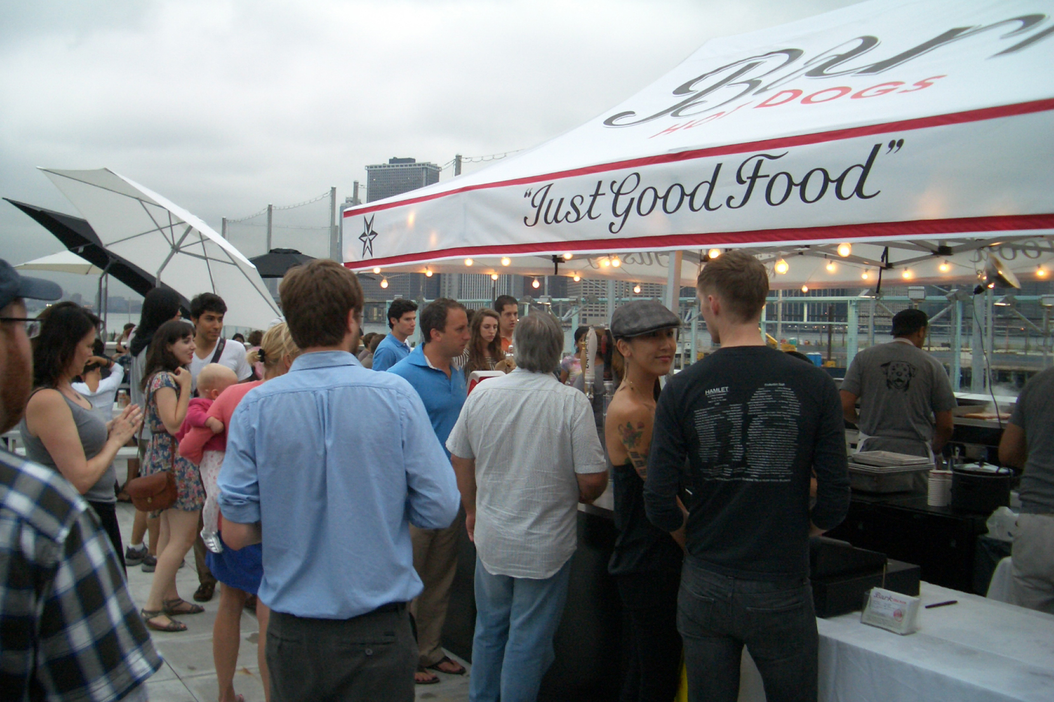 Bark Hot Dogs at Brooklyn Bridge Park Pier 6