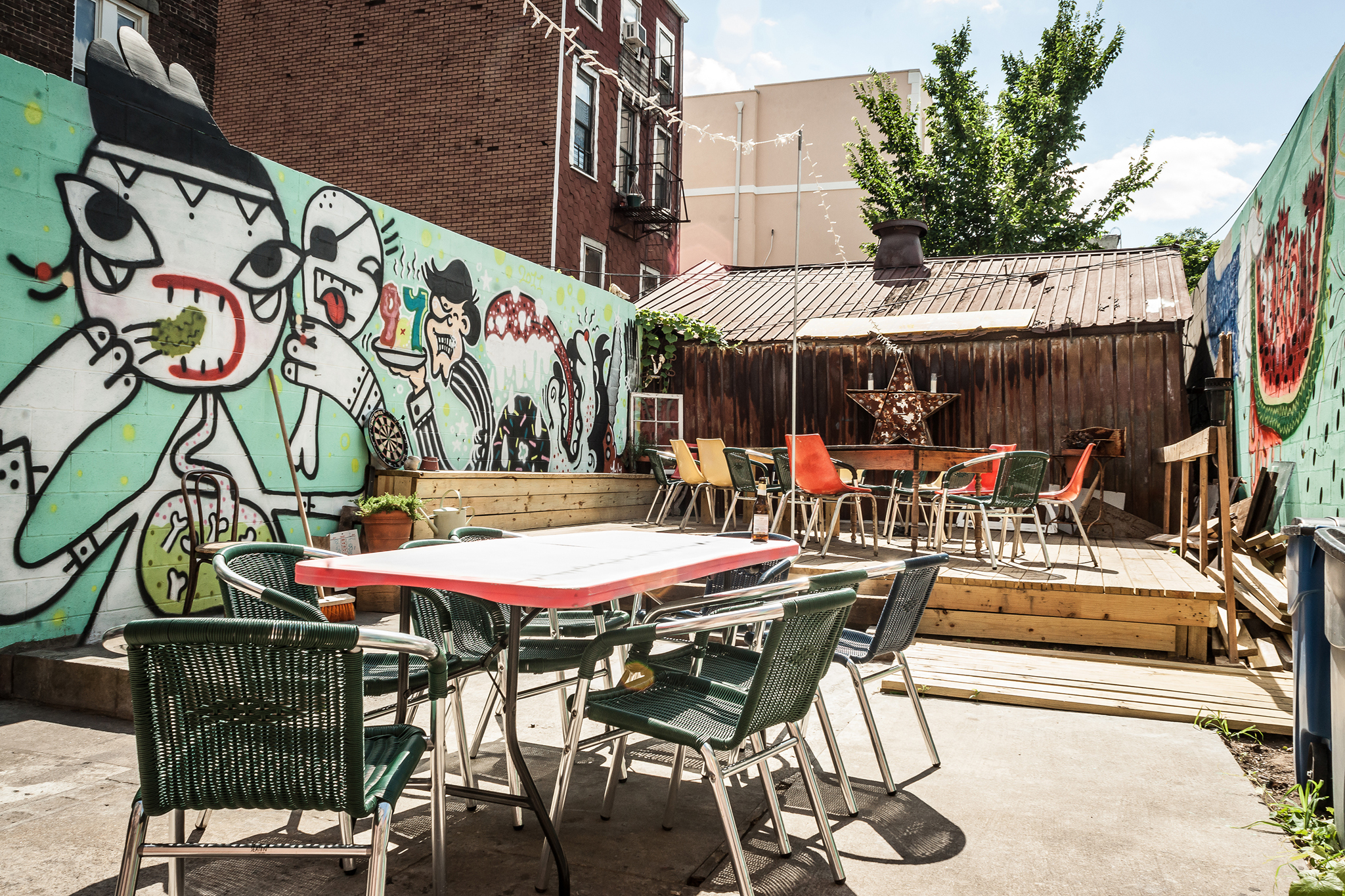 New York's top outdoor dining spots