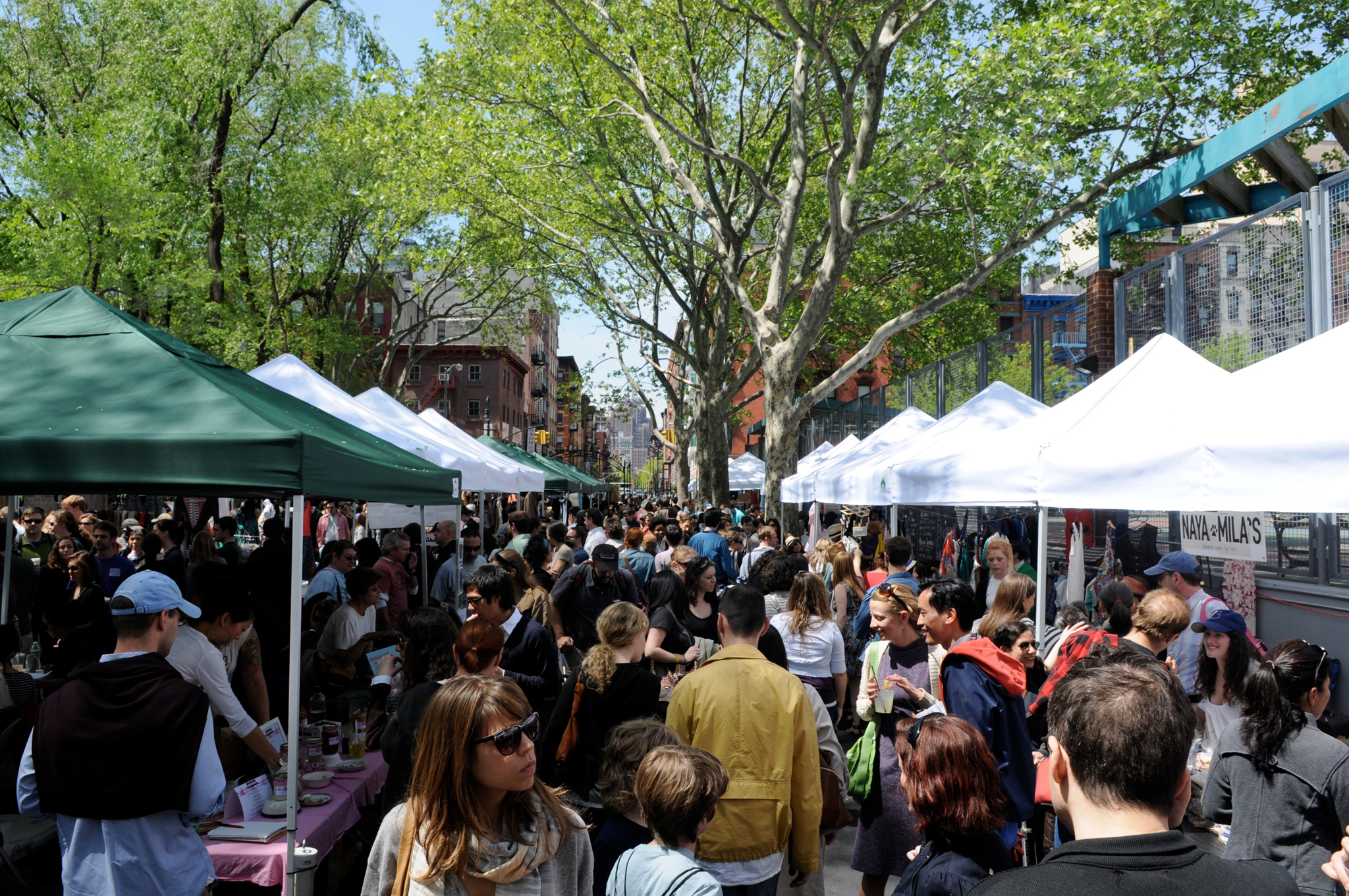 Buy handmade goods at Hester Street Fair