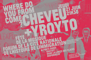 Cheveu & Yroyto, 'Where Do You From Come'