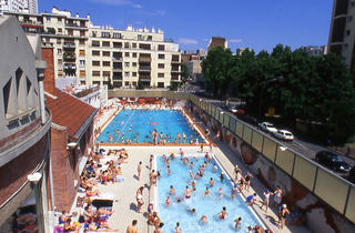 Piscine butte aux cailles in butte aux cailles paris for Piscine butte aux cailles