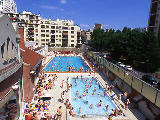 Swimming pools in paris time out paris for Champerret piscine