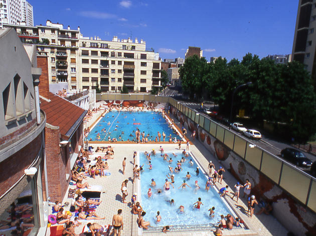 Piscine de la butte aux cailles butte aux cailles paris for Piscine butte aux cailles