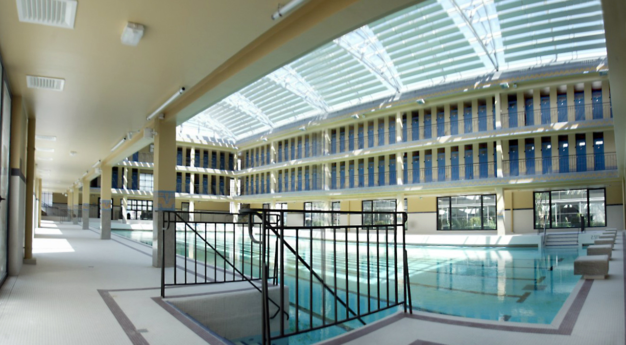 Piscines top 10 des piscines pour nager paris cet t for Piscine pailleron