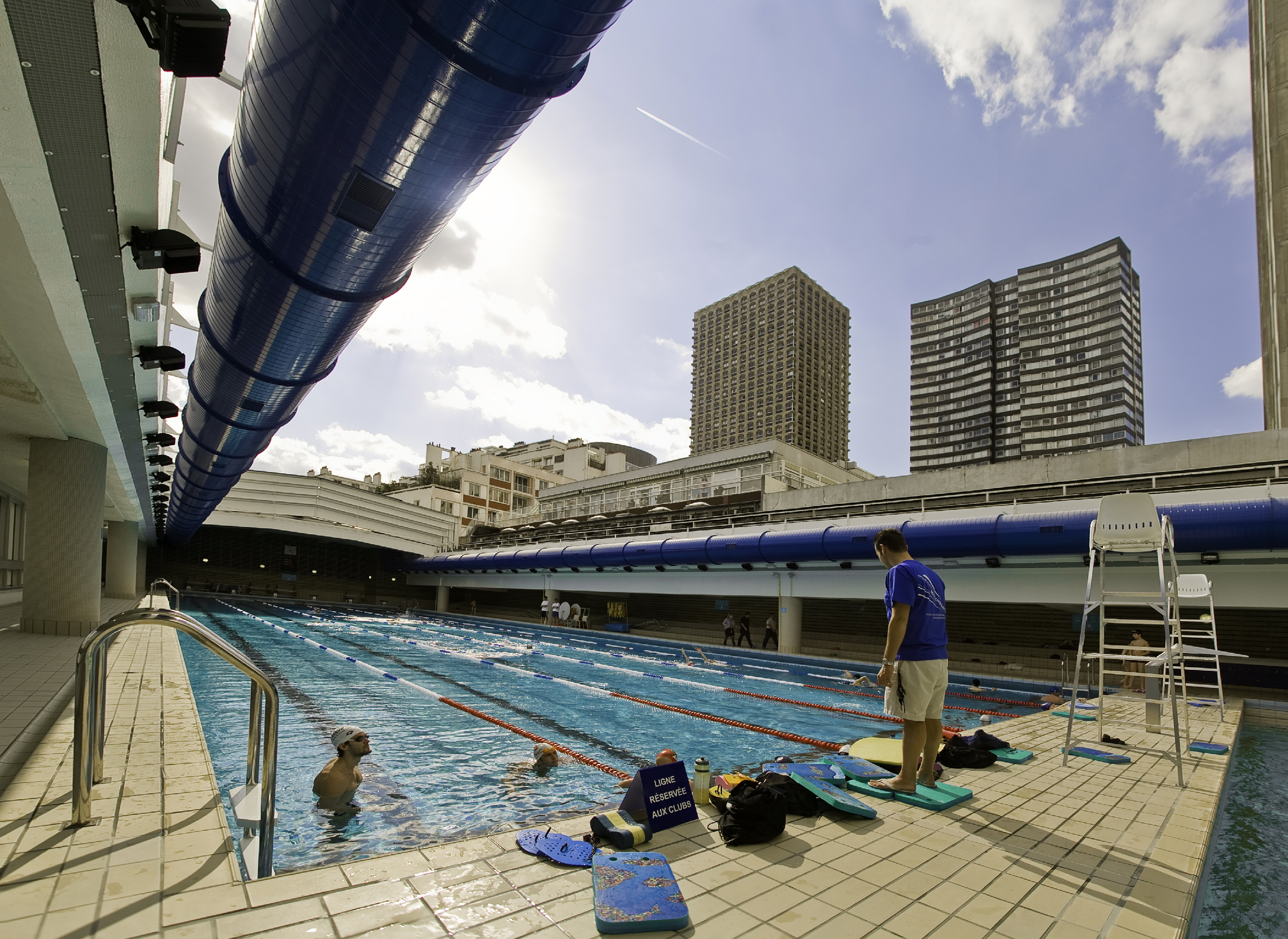 The best open air pools in paris things to do time out for Piscine paris