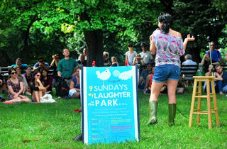 Laughter in the Park