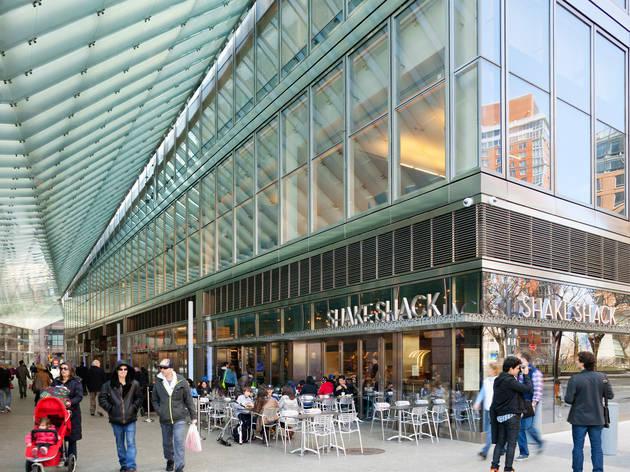 Shake Shack Restaurants In Battery Park City New York
