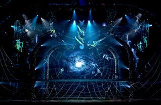 Cirque du Soleil's Zarkana (Photograph: Richard Termine)