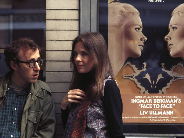 Woody Allen and Diane Keaton in Annie Hall
