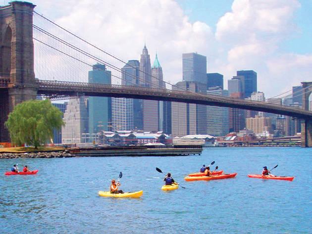 Free kayaking in New York: Where to kayak on NYC's waterways