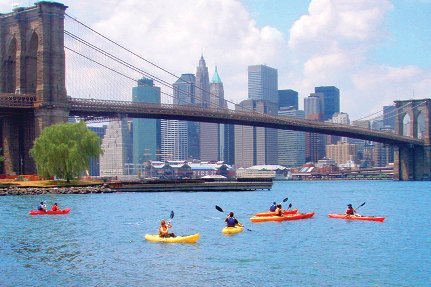 Free kayaking in New York: Where to kayak on NYC's waterways