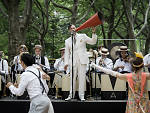 The Jazz Age Lawn Party happens on Governors Island this weekend.