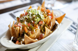 Short-rib nachos at Coppelia