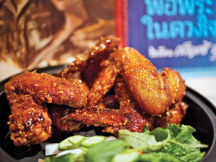 Wings: Ike's Wings at Pok Pok Wing